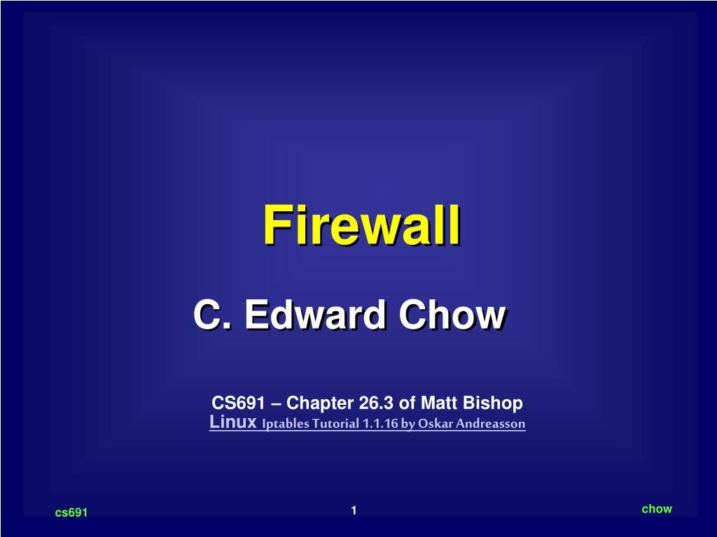 firewall l.