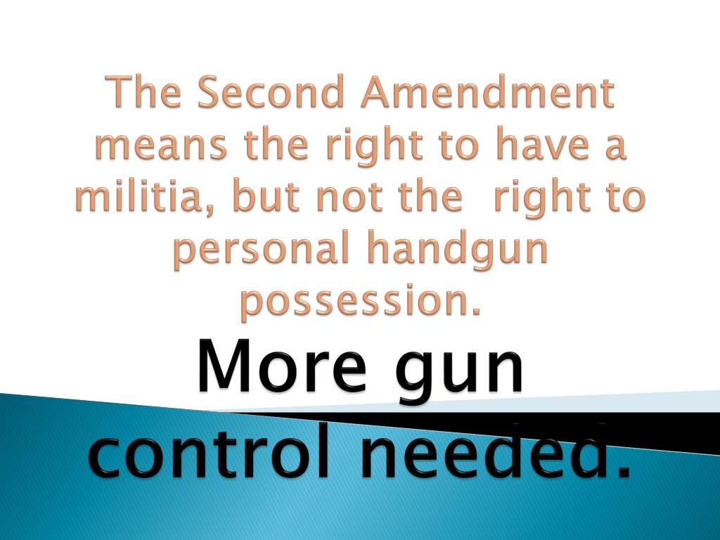 debate of the second amendment While the conversation over the 2nd amendment has not been at the top of the news agenda lately, the debate continues americans on the left argue that only stricter gun legislation can stop gun homicides.