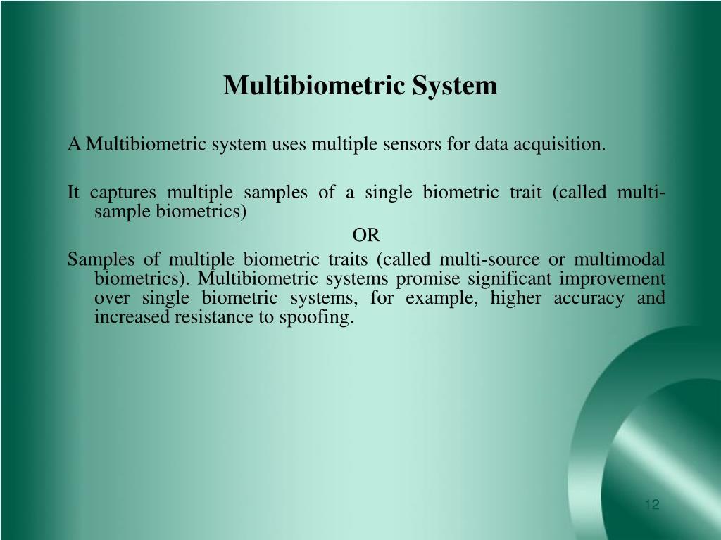 Multibiometric