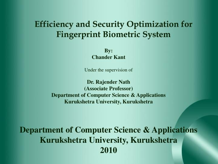 Efficiency and Security Optimization for