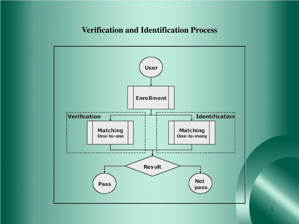 Verification and Identification Process