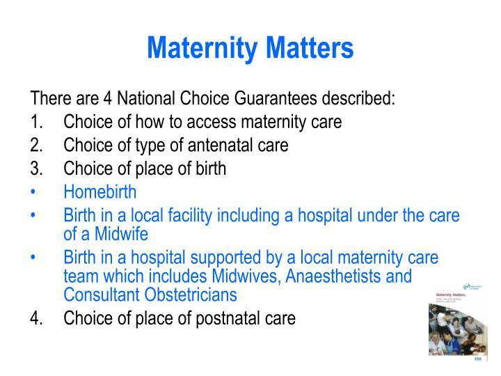Maternity matters3