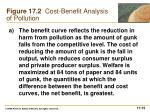 figure 17 2 cost benefit analysis of pollution