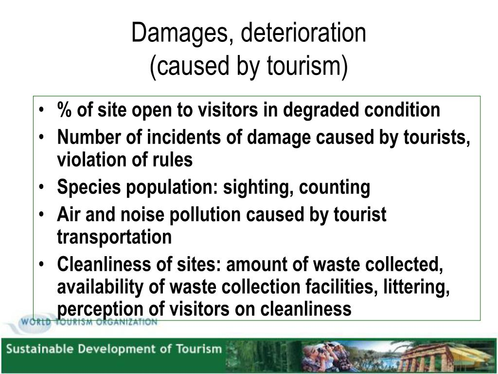 Damages, deterioration