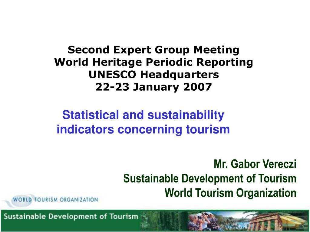 Second Expert Group Meeting