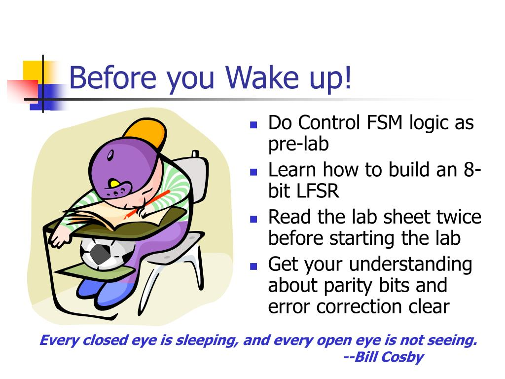 Before you Wake up!