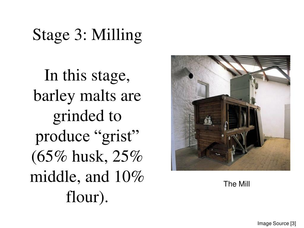 Stage 3: Milling