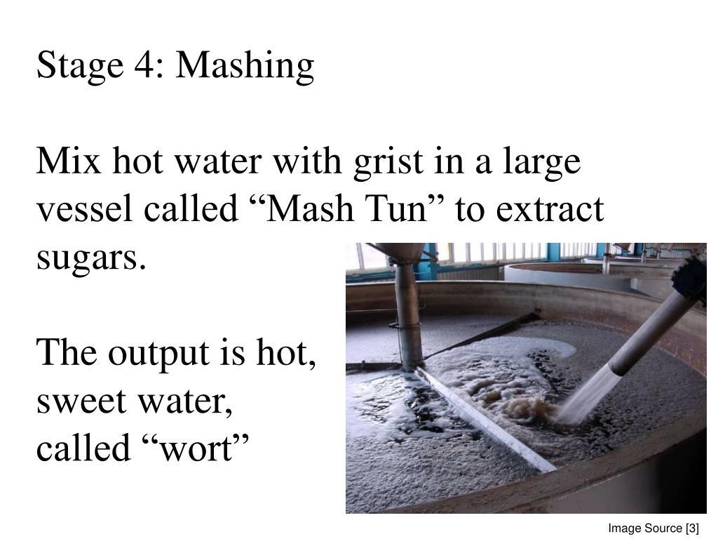 Stage 4: Mashing