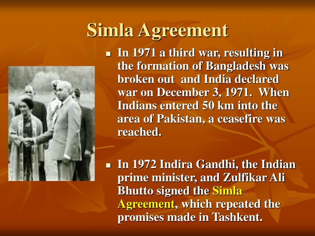 Simla Agreement