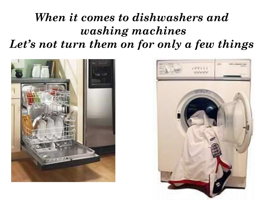 When it comes to dishwashers and