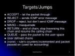 targets jumps