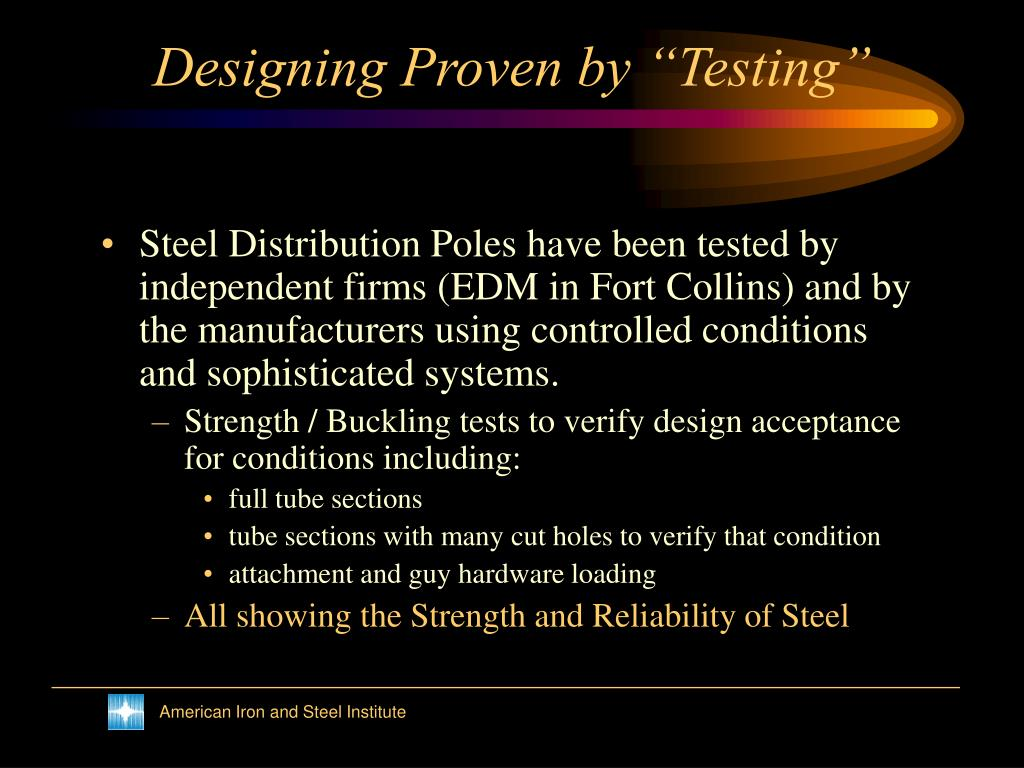 "Designing Proven by ""Testing"""