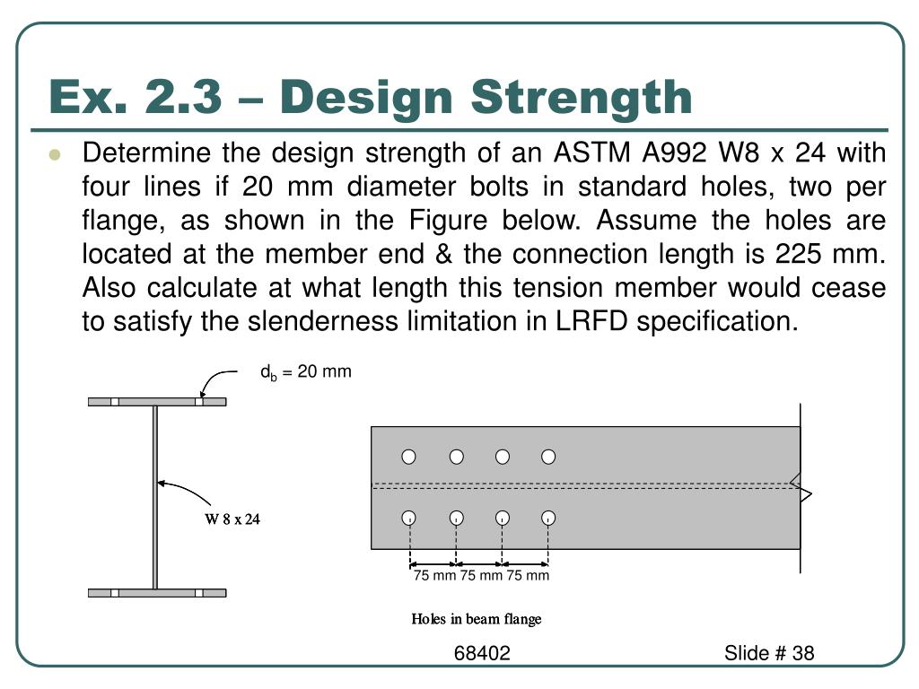 PPT - 68402: Structural Design of Buildings II 61420: Design