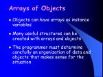 arrays of objects27
