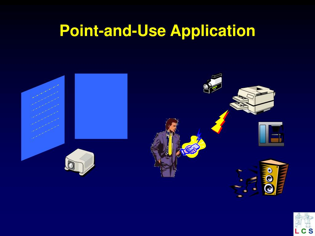 Point-and-Use Application