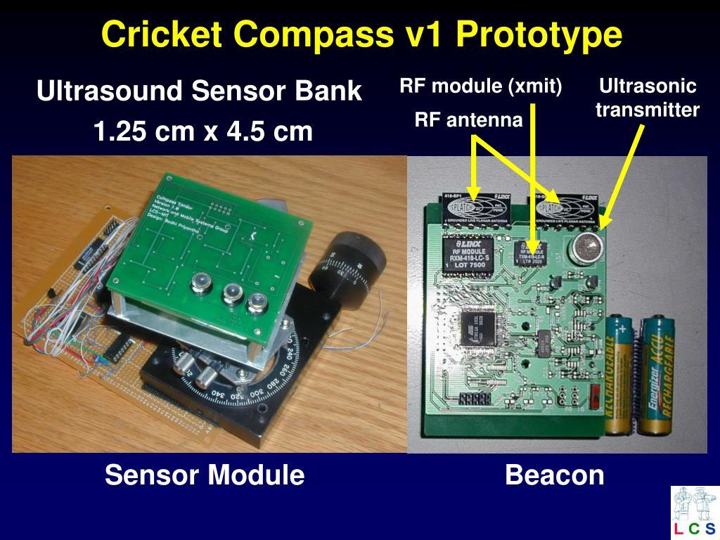 Cricket Compass v1 Prototype