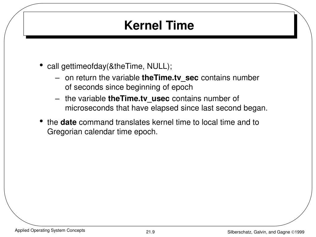 Kernel Time