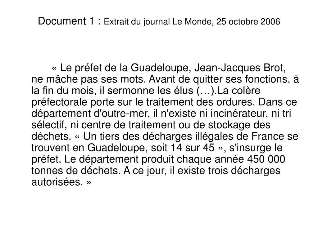 Document 1:
