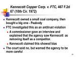 kennecott copper corp v ftc 467 f 2d 67 10th cir 1972