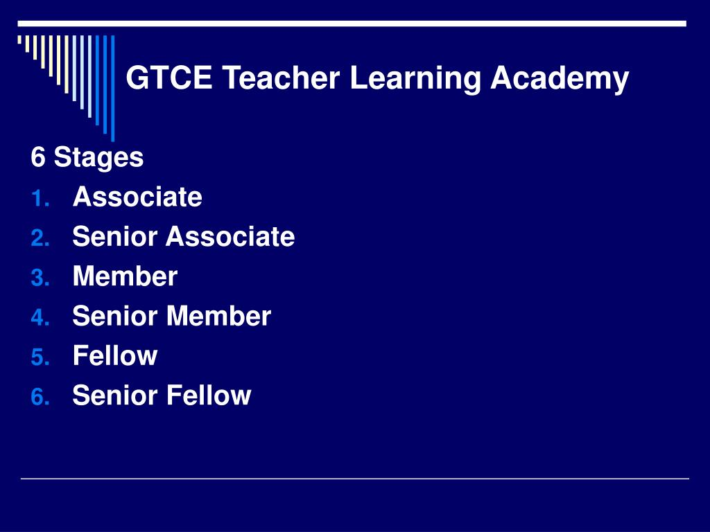 GTCE Teacher Learning Academy