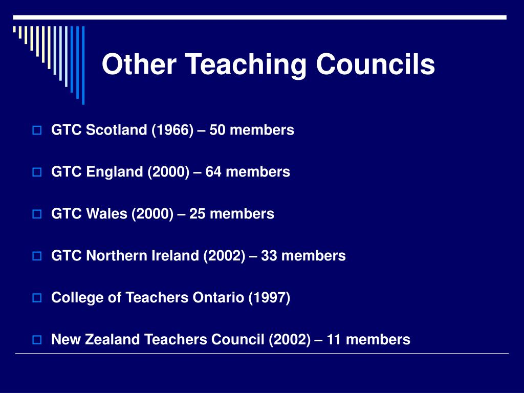 Other Teaching Councils