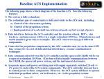 baseline acs implementation