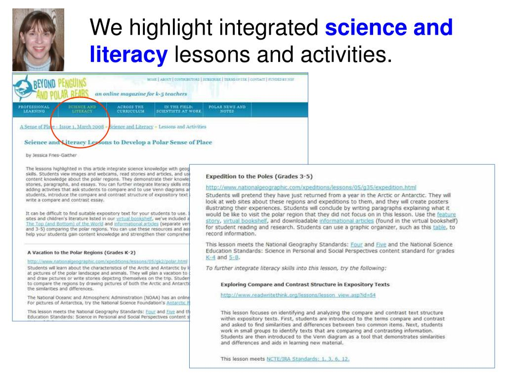 We highlight integrated