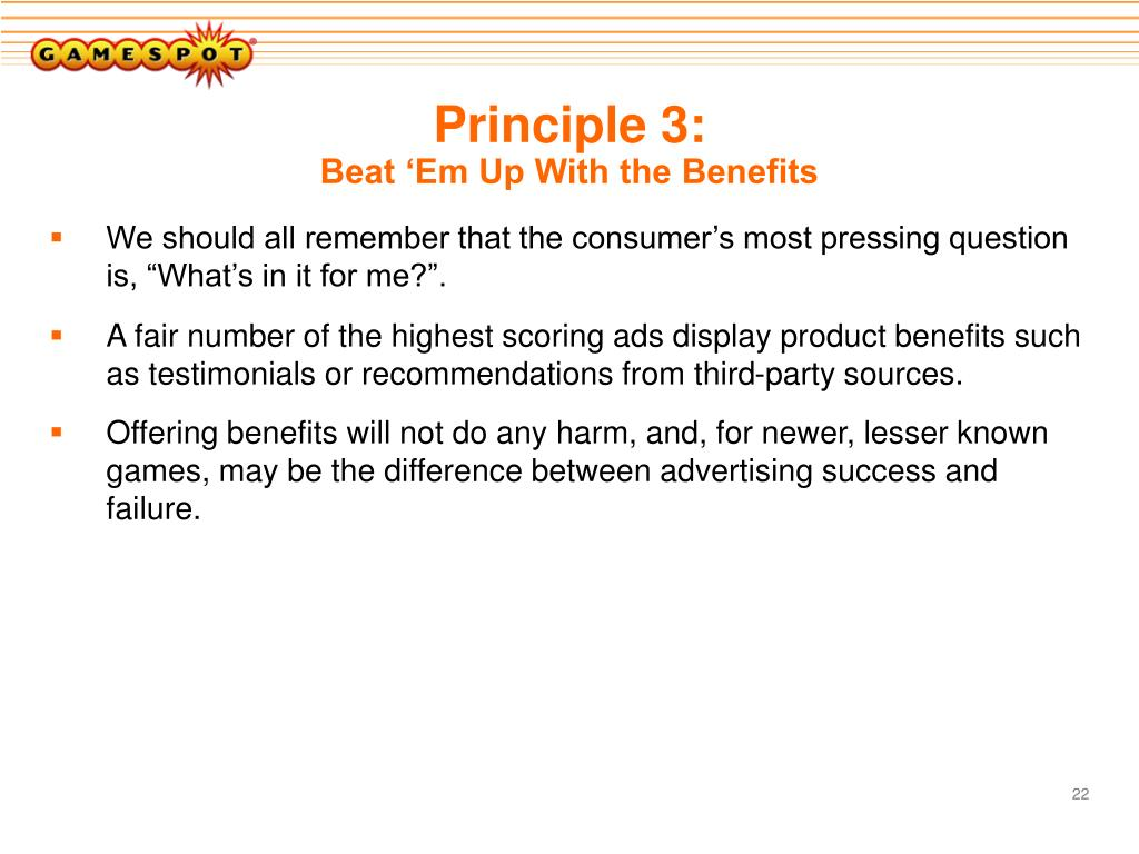 Principle 3: