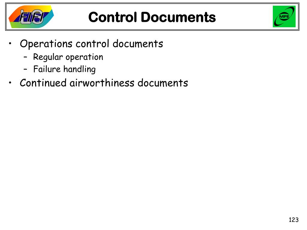 Control Documents