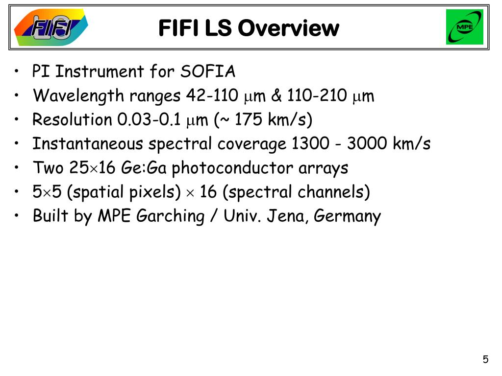 FIFI LS Overview