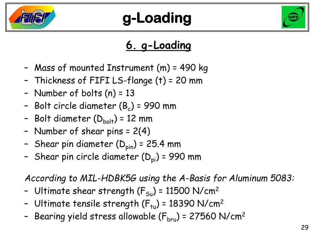 g-Loading
