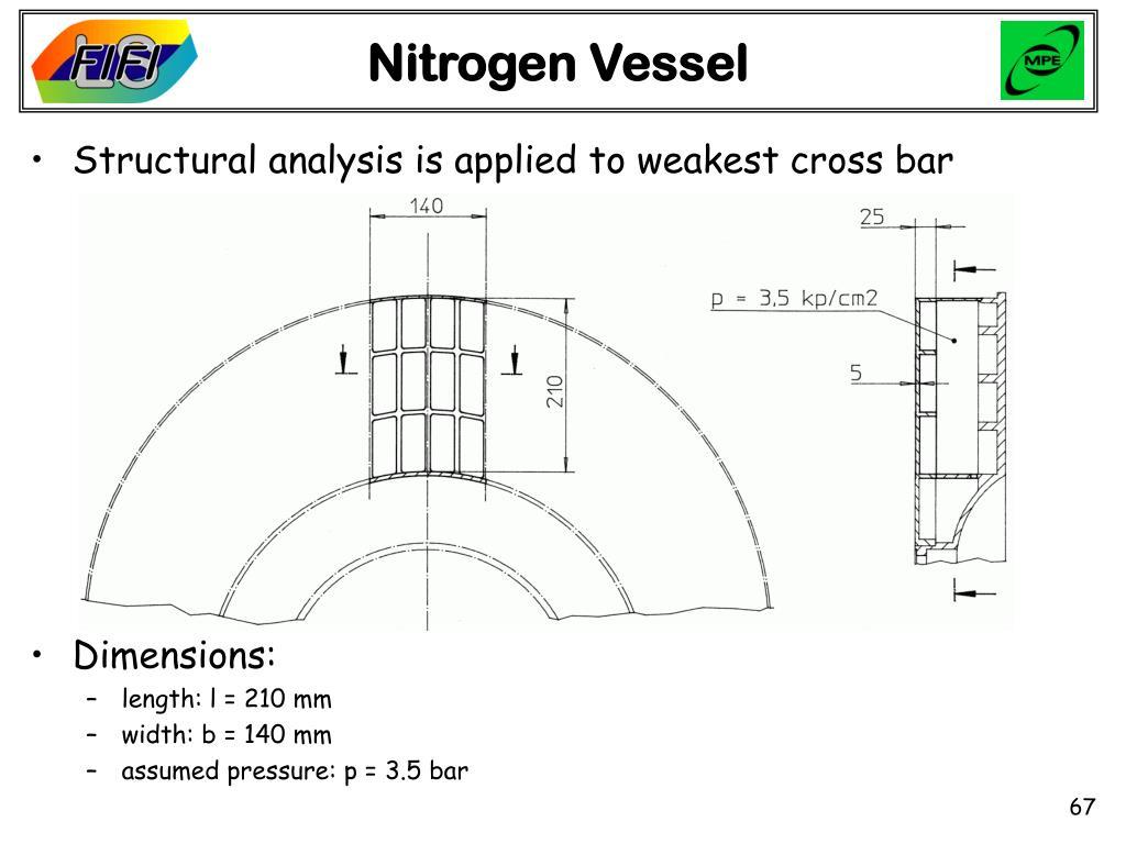Nitrogen Vessel