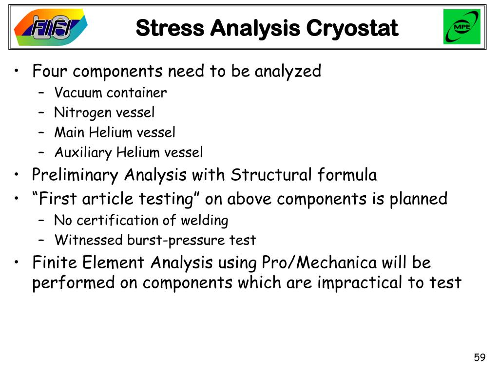 Stress Analysis Cryostat