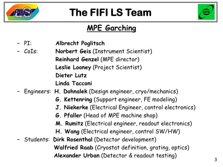 The fifi ls team