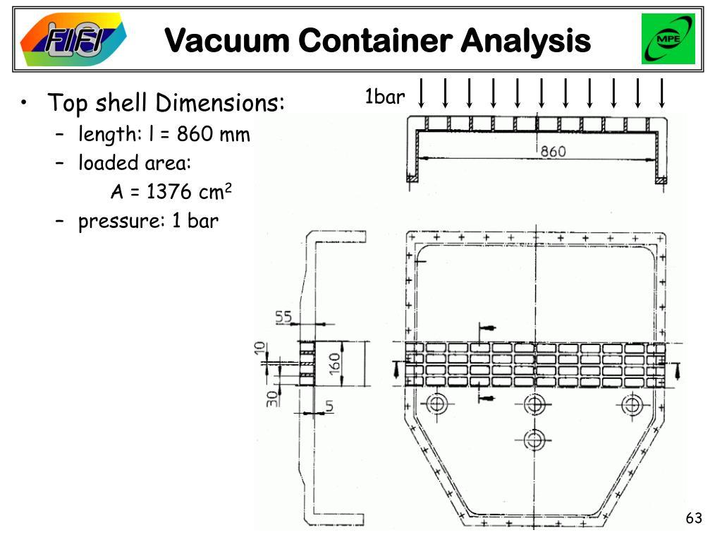 Vacuum Container Analysis