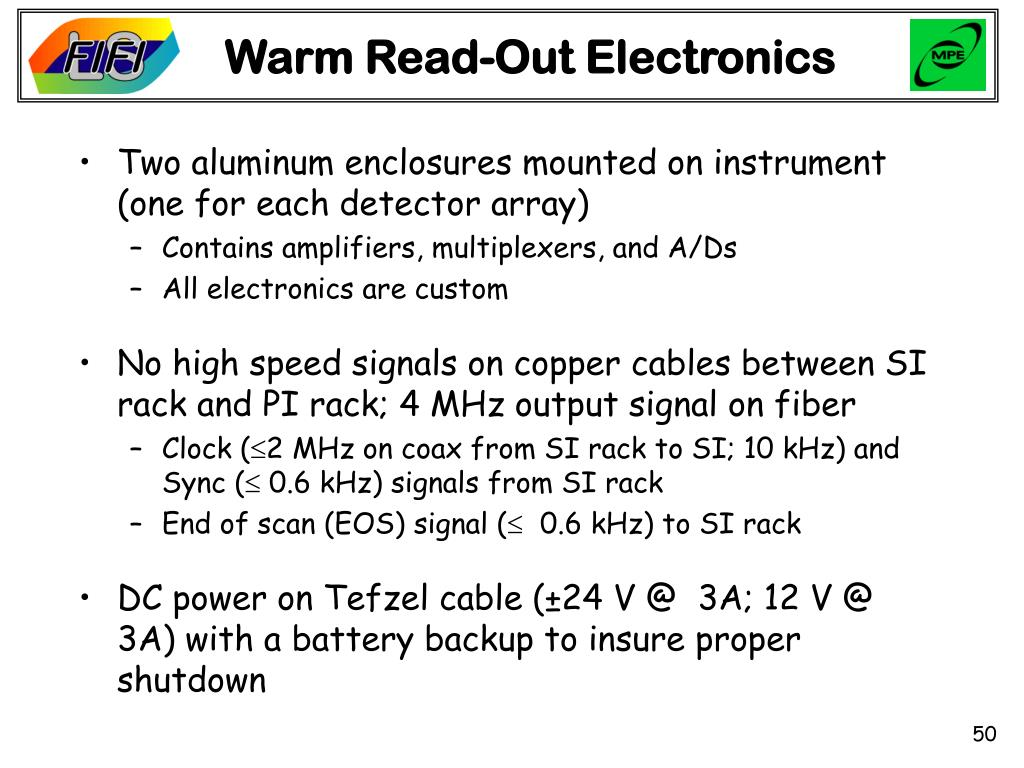 Warm Read-Out Electronics