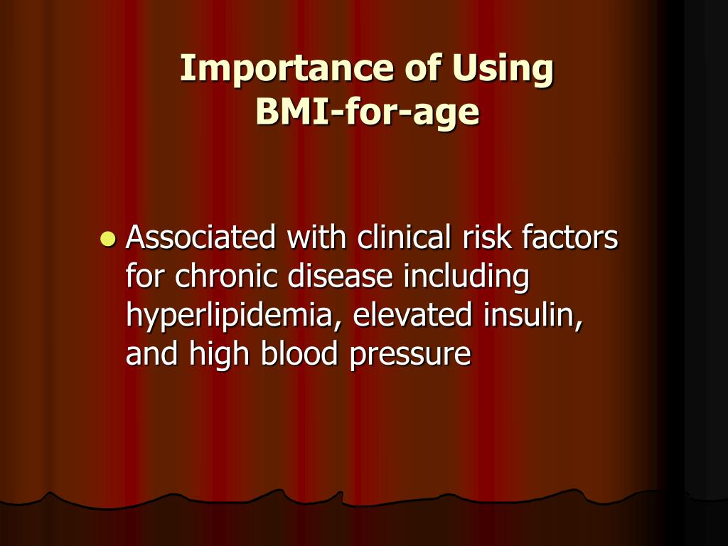 Importance of Using BMI-for-age