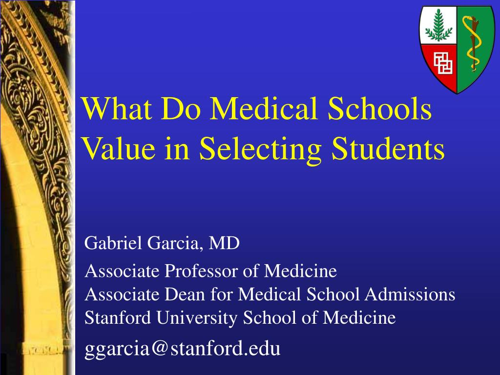 What Do Medical Schools