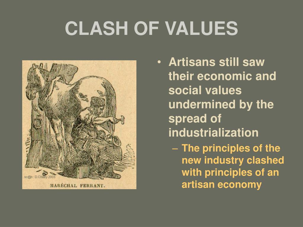 CLASH OF VALUES