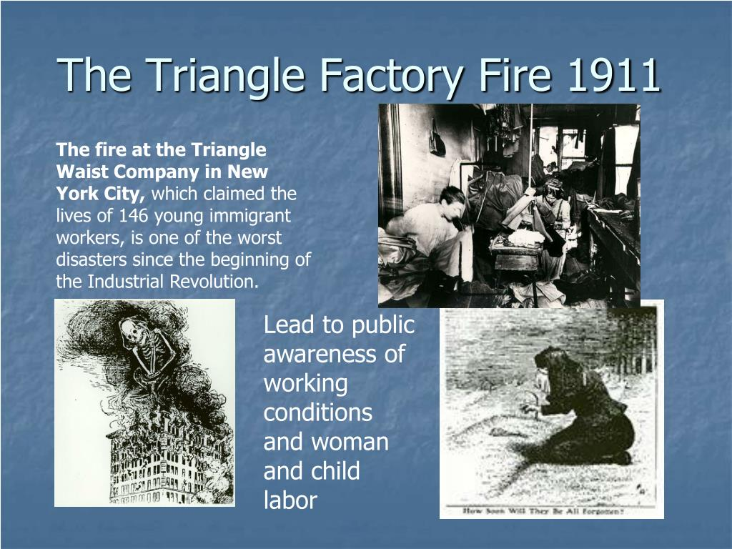 The Triangle Factory Fire 1911