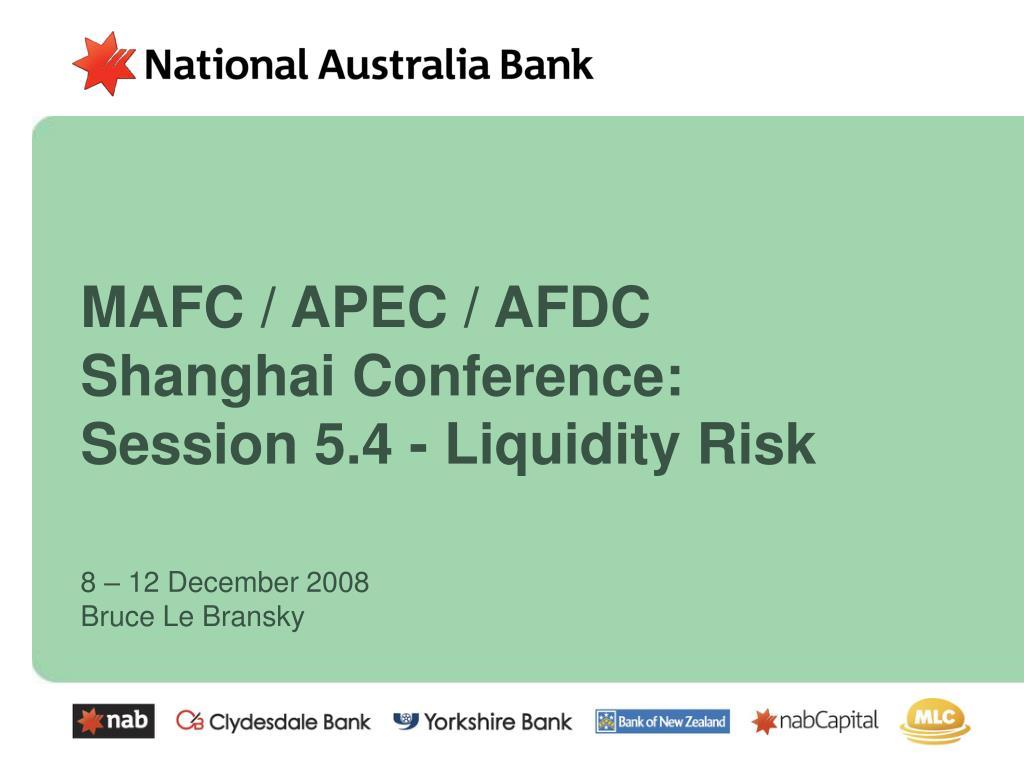 MAFC / APEC / AFDC