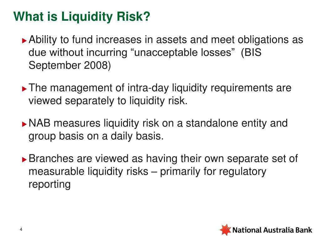 What is Liquidity Risk?