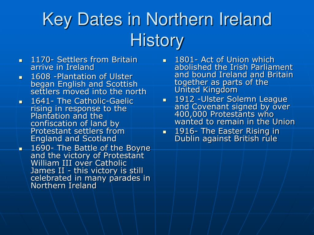 1170- Settlers from Britain arrive in Ireland