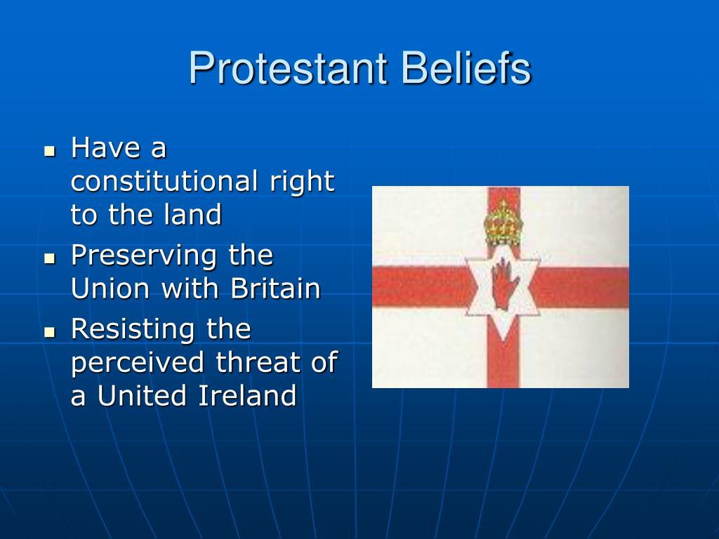 Protestant Beliefs