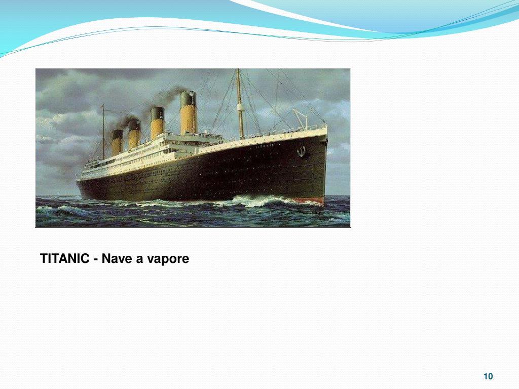 TITANIC - Nave a vapore