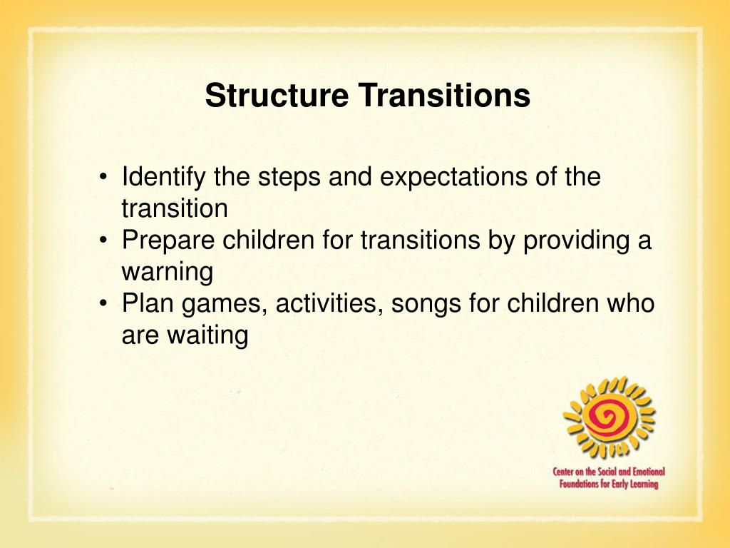 Structure Transitions