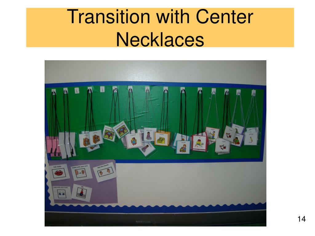 Transition with Center Necklaces