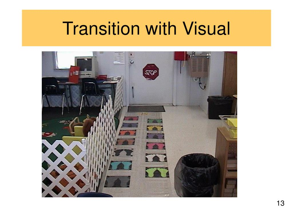 Transition with Visual