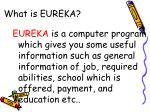 what is eureka