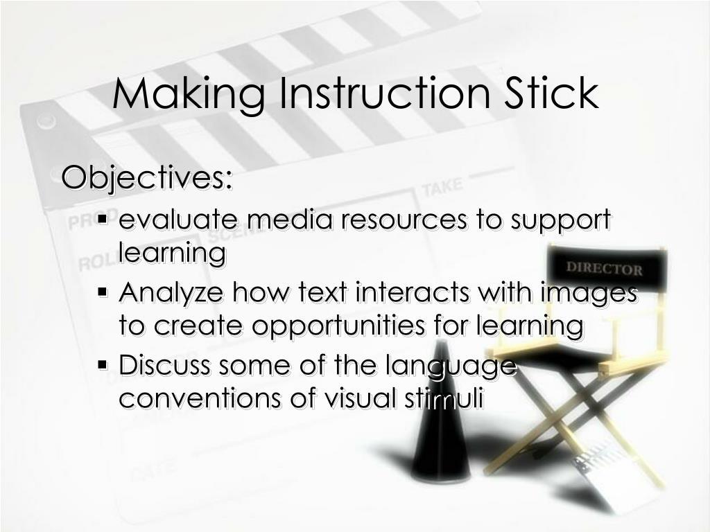Making Instruction Stick